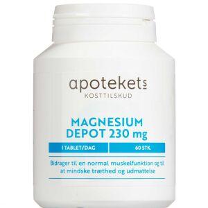 Køb Apotekets Magnesium Depot 60 stk. online hos apotekeren.dk
