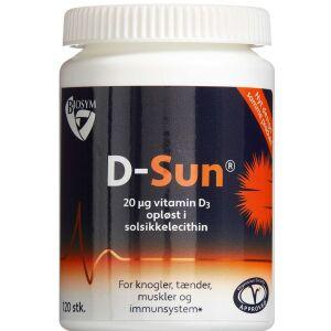 Køb Biosym D-sun 120 stk. online hos apotekeren.dk