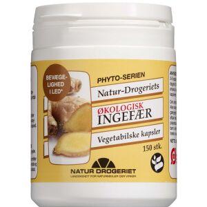 Køb Ingefær Kapsler Økologisk 150 stk. online hos apotekeren.dk