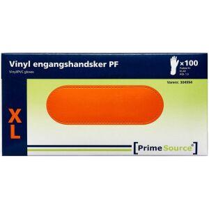 Køb Primesource Vinyl handske pudderfri X-large 100 stk. online hos apotekeren.dk