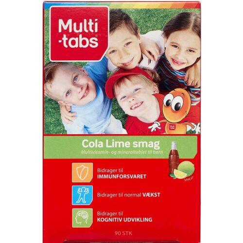 Køb Multi-tabs cola/lime tyggetabletter 90 stk. online hos apotekeren.dk