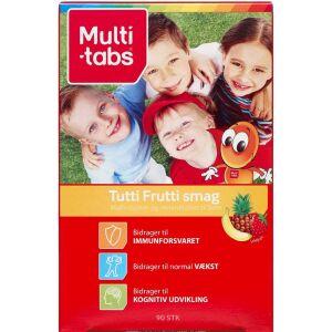 Køb Multi-tabs Tutti-Frutti tyggetablet 90 stk.  online hos apotekeren.dk