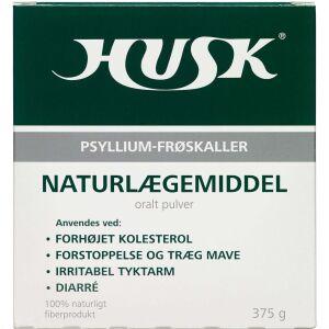 Køb HUSK Psyllium-Frøskaller 375 g online hos apotekeren.dk