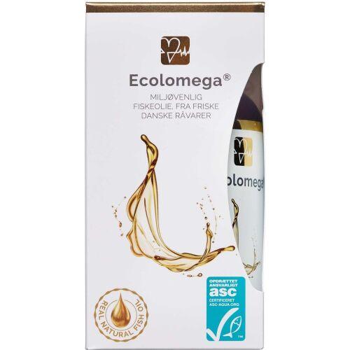 Køb Ecolomega fiskeolie 120 stk. online hos apotekeren.dk