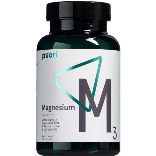 Køb Puori Magnesium M3 60 stk. online hos apotekeren.dk
