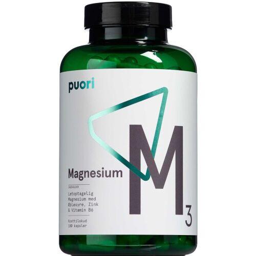 Køb Puori Magnesium M3 180 stk. online hos apotekeren.dk