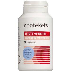 Køb Apotekets B-Vitaminer 90 stk. online hos apotekeren.dk