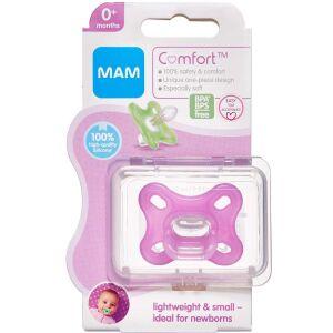 Køb Mam Comfort Newborn 0-2 måneder Pink 1 stk. online hos apotekeren.dk