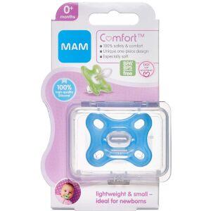 Køb Mam Comfort Newborn 0-2 måneder Blå 1 stk. online hos apotekeren.dk