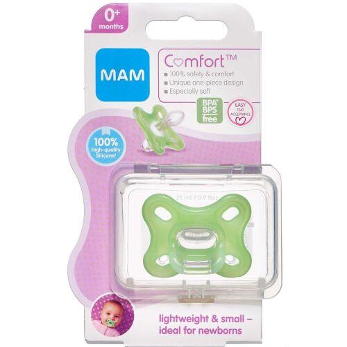 Køb Mam Comfort Newborn 0-2 måneder Grøn 1 stk. online hos apotekeren.dk
