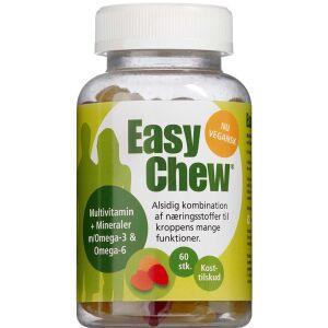 Køb Easychew Multivitmin m- mineraler vegansk 60 stk. online hos apotekeren.dk