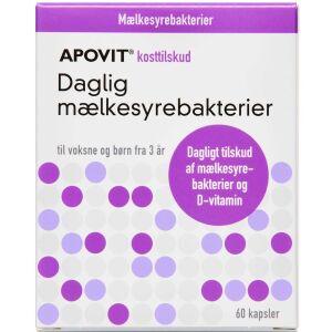 Køb APOVIT DAGLIG MÆLKESYREBAKT. online hos apotekeren.dk