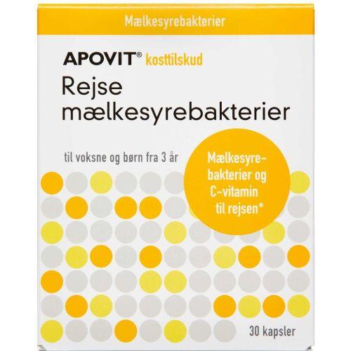 Køb APOVIT REJSE MÆLKESYREBAKT. online hos apotekeren.dk