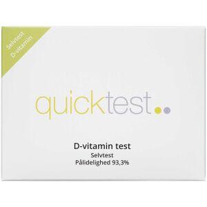 Køb Quicktest D-vitamin 1 stk. online hos apotekeren.dk
