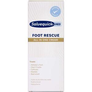 Køb Salvequick Foot Rescue Cream 100 ml online hos apotekeren.dk