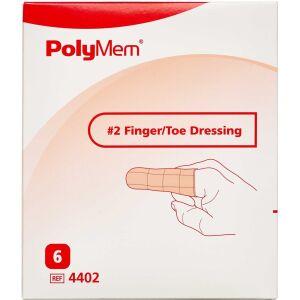 Køb PolyMem Finger/Tå bandage nr. 2 medium 6 stk. online hos apotekeren.dk