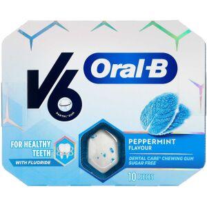 Køb V6 Oral-B Peppermint 3x10 stk. online hos apotekeren.dk