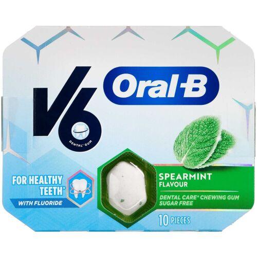 Køb V6 Oral-B Spearmint 3x10 stk. online hos apotekeren.dk