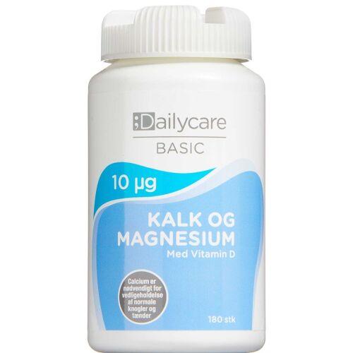 Køb Dailycare Kalk med Magnesium 180 stk. online hos apotekeren.dk