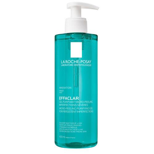 Køb La Roche-Posay Effaclar Micropeeling gel 400 ml online hos apotekeren.dk