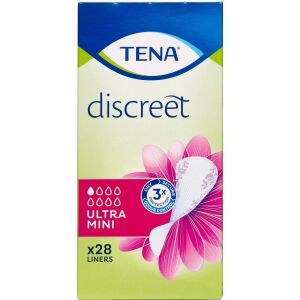 Køb TENA Discreet Ultra Mini 28 stk. online hos apotekeren.dk