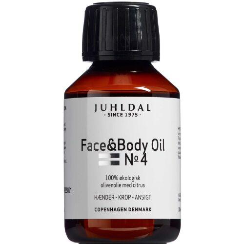 Køb Juhldal Face & Body Oil No 4 100 ml online hos apotekeren.dk