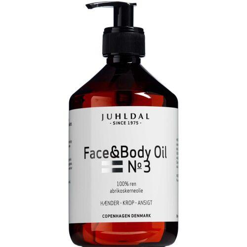 Køb Juhldal Face & Body Oil No 3 500 ml online hos apotekeren.dk