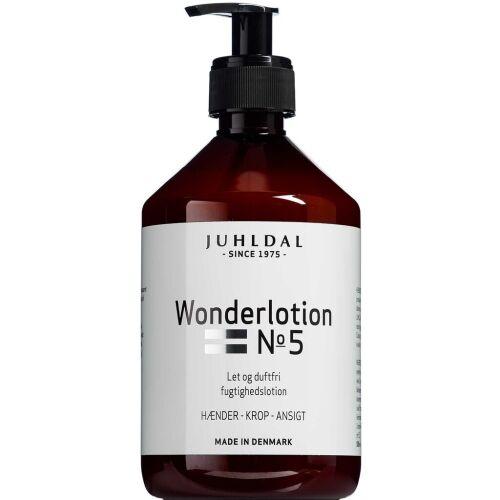 Køb Juhldal Wonderlotion No. 5 500 ml online hos apotekeren.dk