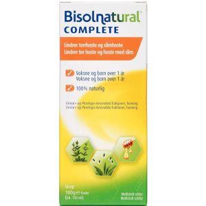 Køb Bisolnatural Complete sirup 133 ml online hos apotekeren.dk