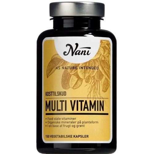 Køb Nani Multivitamin 150 stk. online hos apotekeren.dk