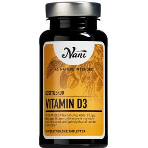Køb Nani Vitamin D3 90 stk. online hos apotekeren.dk