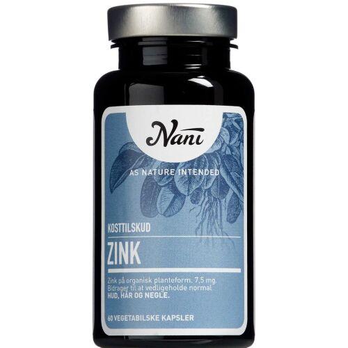 Køb Nani Zink 60 stk. online hos apotekeren.dk