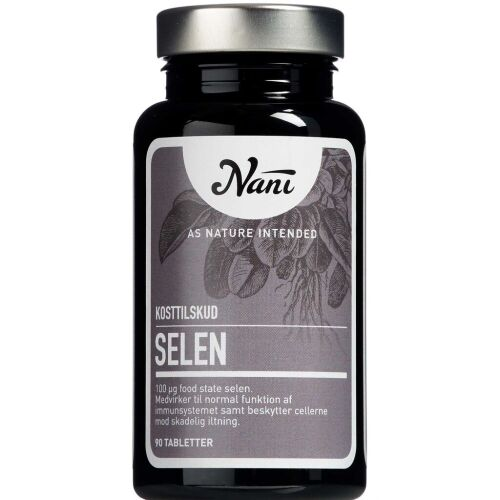 Køb Nani Selen 90 stk. online hos apotekeren.dk