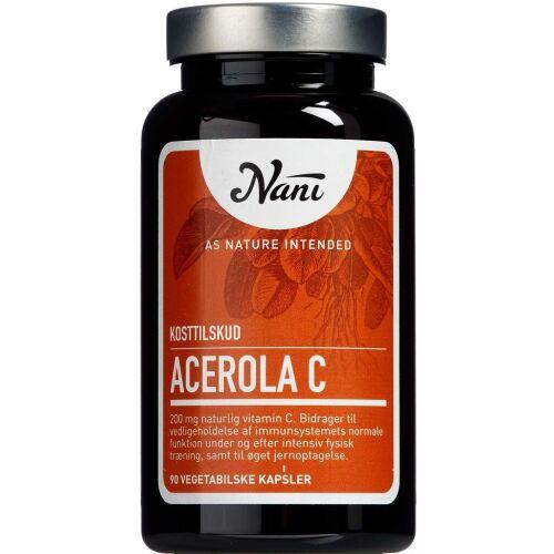 Køb Nani Acerola C 90 stk. online hos apotekeren.dk