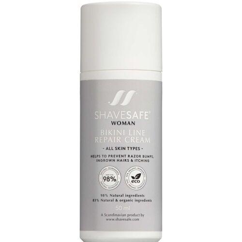 Køb Shavesafe Bikini Line Repair Cream 50 ml online hos apotekeren.dk
