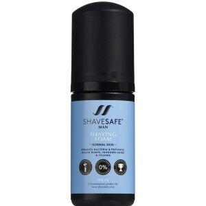 Køb Shavesafe Man Shaving Foam Normal Skin 100 ml online hos apotekeren.dk