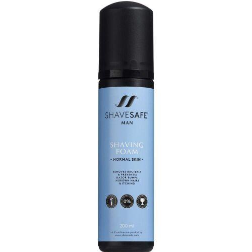 Køb ShaveSafe Man Shaving Foam Normal Skin 200 ml online hos apotekeren.dk