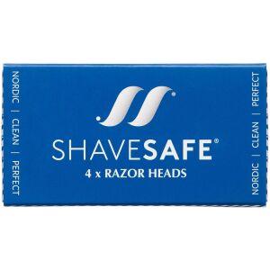 Køb Shavesafe Razor Head 4 stk. online hos apotekeren.dk