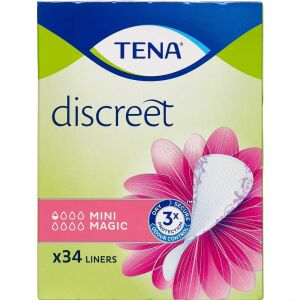 Køb TENA Discreet Mini Magic 34 stk. online hos apotekeren.dk