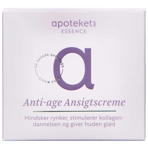 Køb APOTEKETS ESSENCE ANTI-AGE CR. online hos apotekeren.dk