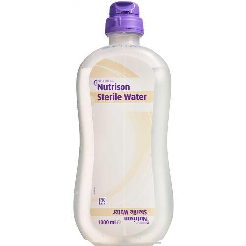 Køb Nutrison Sterile Water 8 x 1000 ml online hos apotekeren.dk