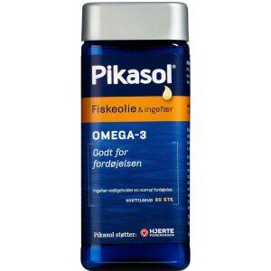 Køb Pikasol Fiskeolie-Ingefær Kapsler 80 stk. online hos apotekeren.dk