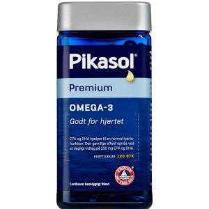 Køb Pikasol Premium Omega-3 120 stk. online hos apotekeren.dk