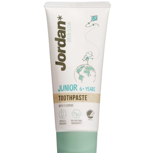 Køb Jordan Green Clean Junior tandpasta 6+ år 50 ml online hos apotekeren.dk