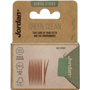 Køb Jordan Green Clean Toothpicks 100 stk. online hos apotekeren.dk