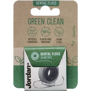 Køb Jordan Green Clean Floss 30 m online hos apotekeren.dk