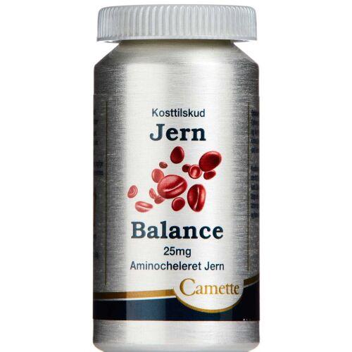 Køb Jern Balance 25 mg Aminocheleret 100 stk. online hos apotekeren.dk