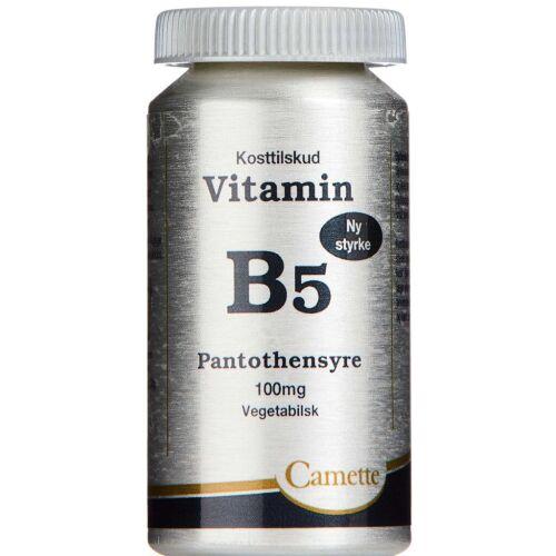 Køb B5 Vitamin Pantothensyre 100 mg 90 stk. online hos apotekeren.dk