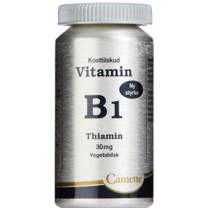 Køb B1 Vitamin Thiamin 30 mg 90 stk. online hos apotekeren.dk