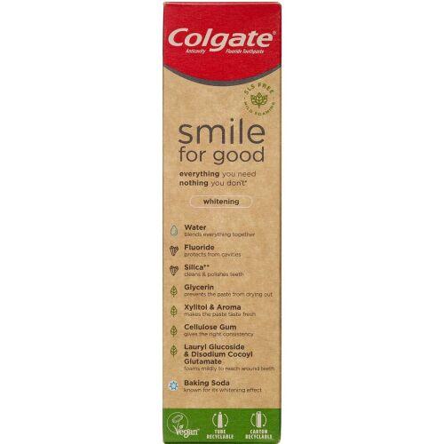 Køb Colgate Tandpasta Smile for Good Whitening 75 ml. 75 ml. online hos apotekeren.dk